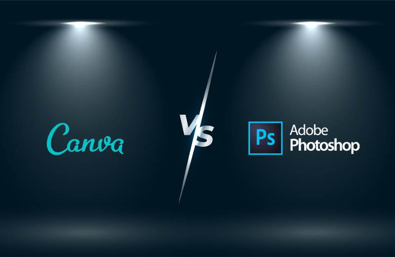 Canva vs Photoshop