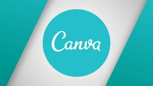 LOGO DE LA APP CANVA CON DOBLE FONDO DE COLORES