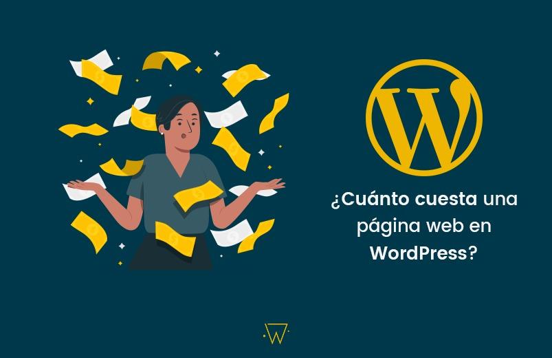 Portada para el articulo PRECIO DISEÑO WEB WORDPRESS